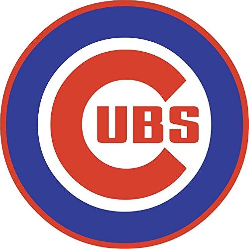 skyhighprint - Chicago Cubs MLB Baseball Decor Vinyl Print Sticker 12'' X 12''