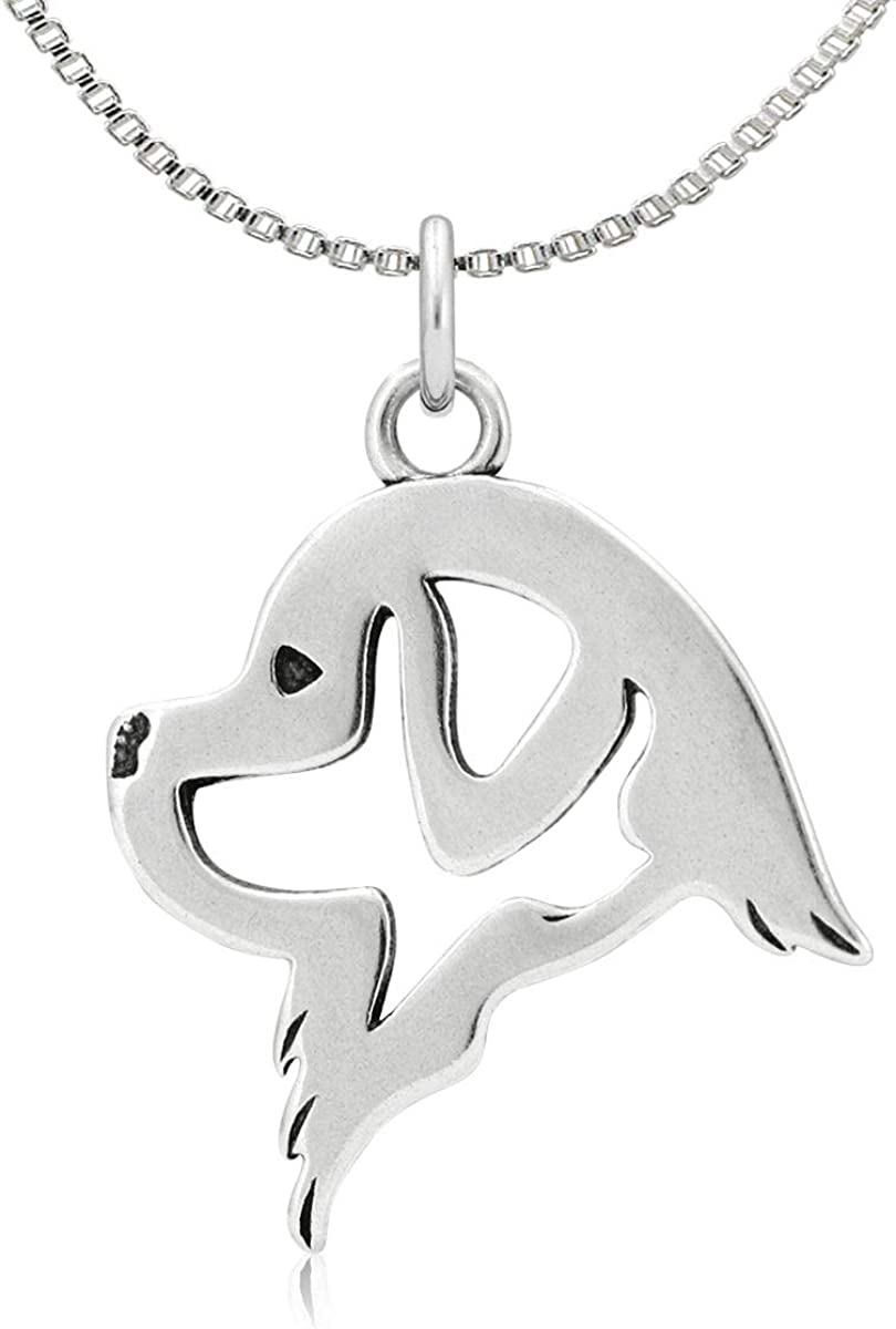Sterling Silver Newfoundland Pendant Head
