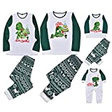 Family Christmas Pjs Matching Sets Sleepwear Xmas Merry...