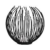 LDTR Portacandele Europea Ferro Geometrica di Candela di Stile Metal Craft Staffe Candeliere Black