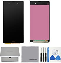 TheCoolCube Full LCD Display Touch Screen Digitizer Assembly Replacement for Sony Xperia Z3 D6603 D6643 D6653 L55u L55t with Free Tools