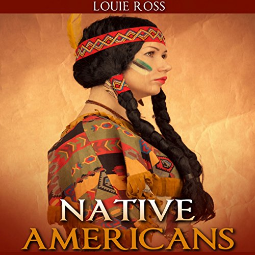 "Native Americans: American History: An Overview Of ""Native American History"" - Your Guide to Native People, Indians, & Indian History audiobook cover art"
