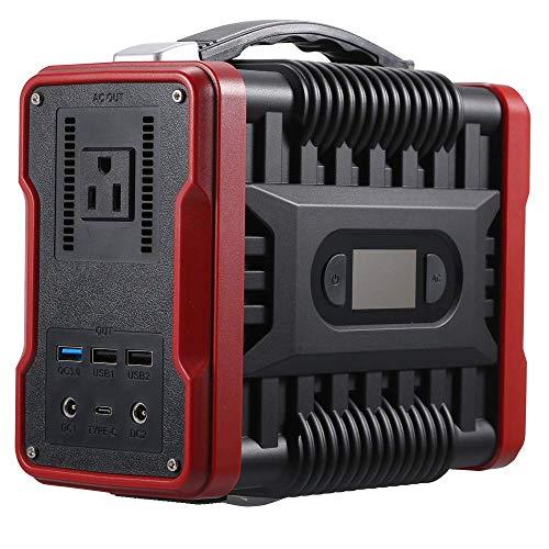 U`King Draagbare Generator Voor Buiten,155Wh/42000mAh Zonne-Generator AC en DC met 4 USB-poorten voor buiten kamperen Draagbare krachtcentrale