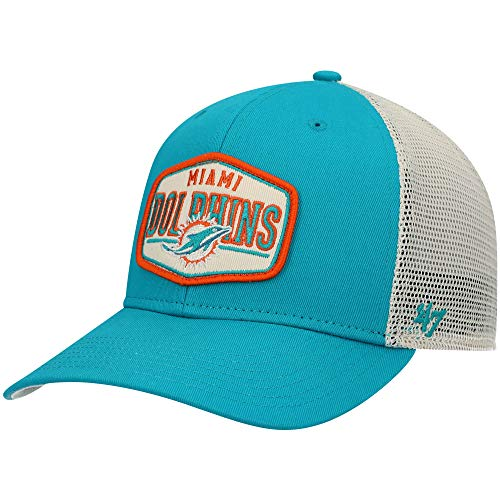 '47 Men's Aqua Miami Dolphins Shumay MVP Snapback Hat