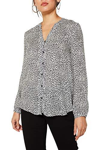 ESPRIT Damen 129Ee1F005 Bluse, Weiß (Off White 4 113), (Herstellergröße: 42)