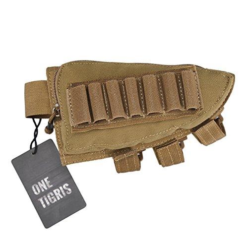 OneTigris Taktische Shell Holder Pouch Gewehrschaft-Tasche (Khaki)