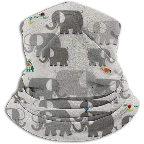 Olive Helin(a) Happy Drawing Organic Elephants UV-Sonnenschutz Gamasche Sonnenmaske, Gesichtsschutz zum Angeln, Wandern, Kajak Maske,