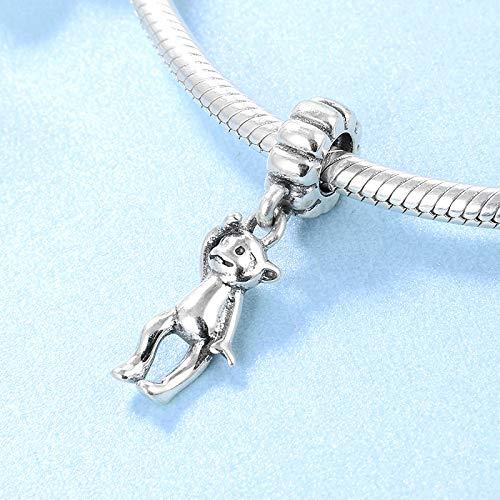 DASFF 12 aapen van het Chinese sterrenbeeld 925 sterling zilver, cadeau om te knutselen hoogwaardige hanger voor armband, origineel met hanger