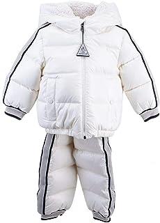 Moncler Luxury Fashion Ragazzo 1F5020068950034K Bianco Poliammide Tuta | Autunno-Inverno 20