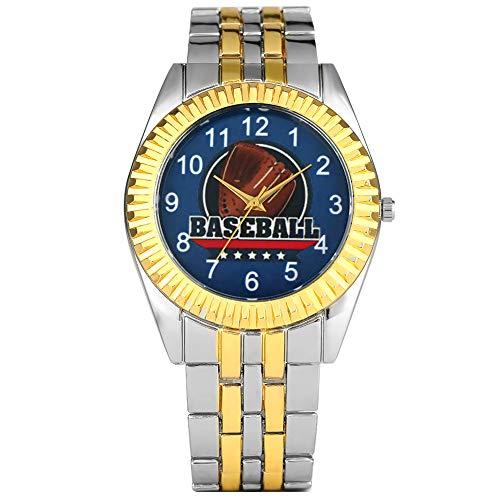 Exquisito Reloj analógico de Cuarzo para Hombre, Creativo diseño de Guantes de...