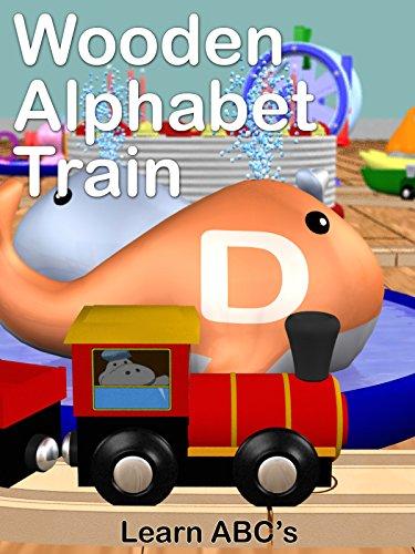 Wooden Alphabet Train - Learn ABC's