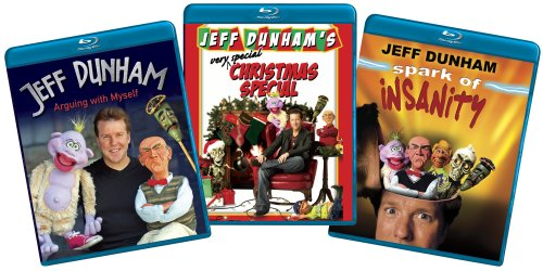 Jeff Dunham (Arguing with Myself/Spark of Insanity/Very Special Christmas Special) (Amazon.com Exclusive) [Blu-ray]