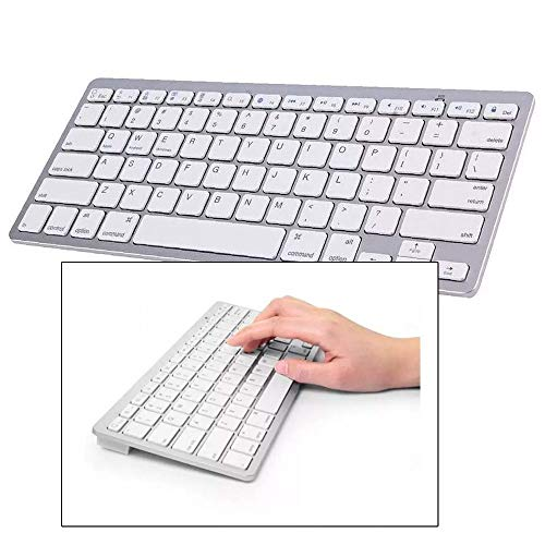 Teclado Bluetooth Universal sem Fio Ipad Iphone Computador Android Mac Note
