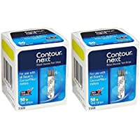 100-Count Contour Next Blood Glucose Test Strips