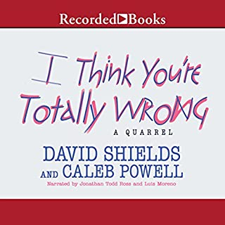 I Think You're Totally Wrong audiobook cover art
