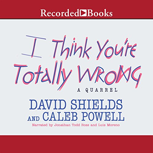 I Think You're Totally Wrong cover art