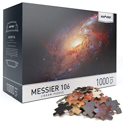 大人のためのジグソーパズル6歳以上の1000ピース、ユニークなイメージの難しいパズル、ギフトパッケージ収納ボックスを含む-Messier 106