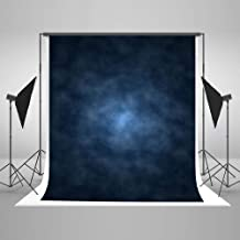 Kate 8x8ft Dark Blue Abstract Photography Backdrop Blue Abstract Textures Background Old Master Blue Photo Backdrops