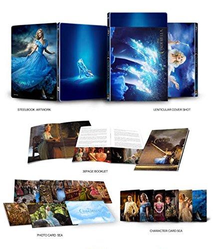 Cinderella - Exklusiv Kimchi Steelbook Edition + Lenticular Schuber - Bluray