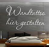Sprüche Wandtattoo selber gestalten Wunschtext Wandaufkleber Name Datum Zitat oder Spruch mit Vorschau designen