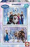 Educa- Frozen Disney 2 Puzzles infantiles de 100 piezas, a partir de 6 años (15767)