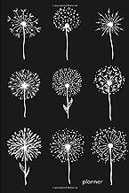 Planner: Weekly planner Dandelion Pattern