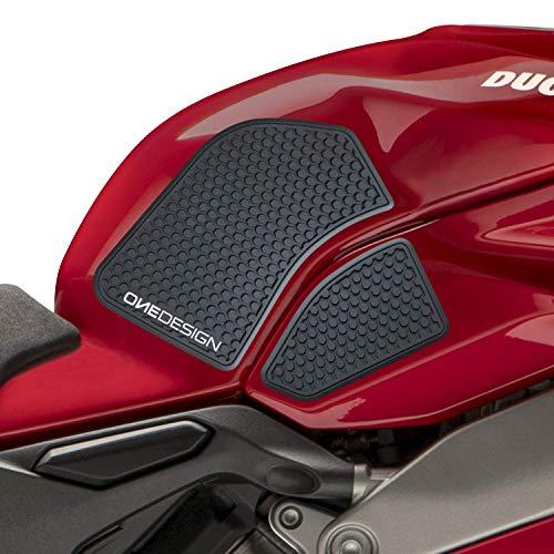 Seitenschutzaufkleber für Ducati V4 1100 - V4 S 1100 - V4 S 1100 - V4 S 1100 Corse - V4 Special V4 Schwarz