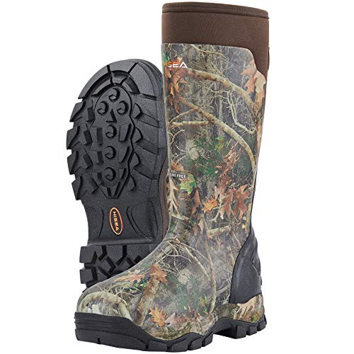Hisea Apollo Pro 400G Insulated Men's Hunting Boots Waterproof Rubber Muck Mud Boots