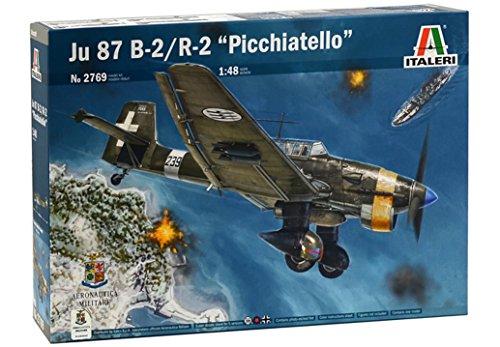 Italeri 2769 Ju 87 B-2/R-2 Picchiatello Model Kit aereo plastica Scala 1:48