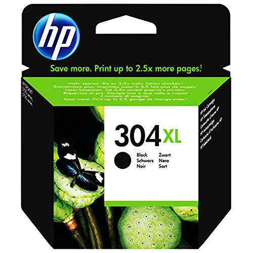 HP 304XL Set Black + Color XL N9K07AE N9K08AE für HP Deskjet 3720 3730
