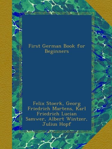 First German Book for Beginners