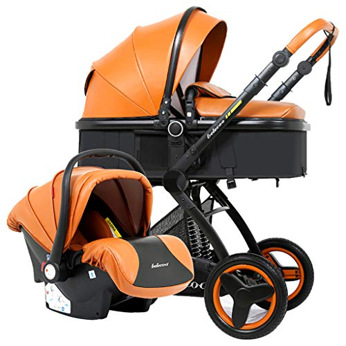Check Out This WANGLXST High Landscape Buggy for Newborns Pram, Multifunction Baby Stroller Folding ...