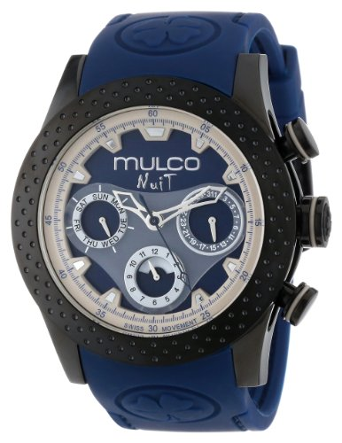 MULCO Unisex MW5-1962-045 Stainless Steel Casual Watch