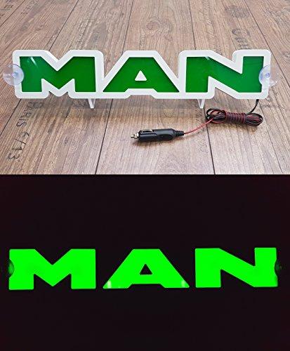 3d 24?V lumi?re LED Neon plaque Camion Trucker Green Sign Table illuminant Only Forward???Ne pas d?ranger les faire tout en Conduisant