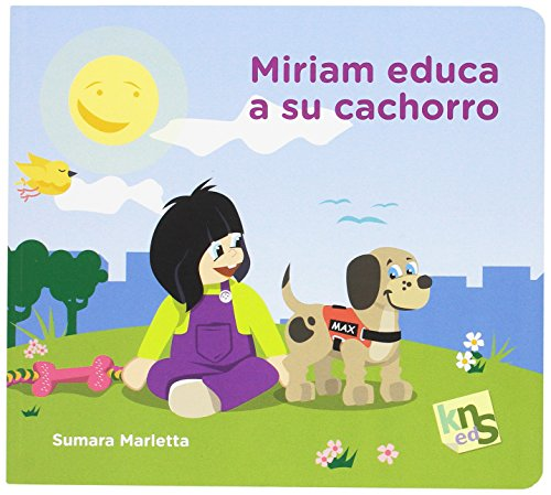 Miriam educa a su cachorro
