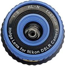 Holga Lens Blue for Nikon D850 D7500 D5600 D3400 D500 D5 D7200 D810A D5500 D750 D810 D4S D3300