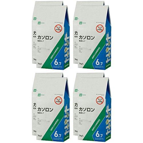 アグロカネショウ 除草剤 カソロン粒剤6.7 3kg ×8入り
