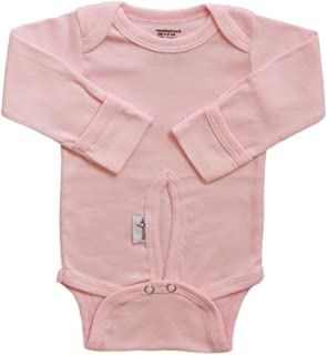 Assessables Umbilical Bodysuit a Safer Way to Clothe and Care for Baby's Cord (Single, Pink)