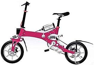 LMCLJJ Plegable neumáticos de bicicletas, bicicletas plegables, doble freno de disco, doble absorción de impactos, se puede convertir la bicicleta eléctrica, convenientes for poner en el maletero, Tom