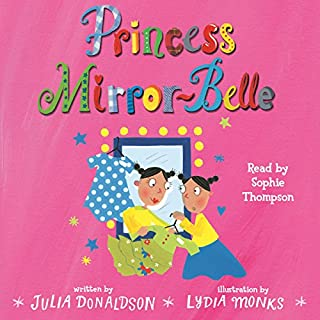 Princess Mirror-Belle audiobook cover art