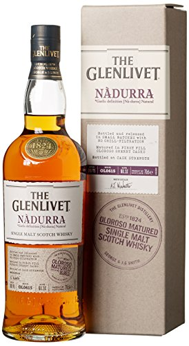 Glenlivet Nadurra Oloroso Sherry Cask mit Geschenkverpackung Whisky (1 x 0.7 l)