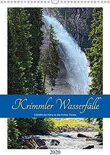 Krimmler Wasserfaelle - Urkraefte der Natur in den Hohen TauernAT-Version  (Wandkalender 2020 DIN A3 hoch): Naturwunder Krimmler Wasserfaelle (Monatskalender, 14 Seiten )