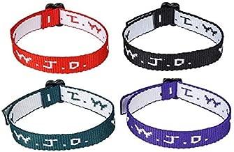 Rhode Island Novelty W.W.J.D. Webbing Bracelets | Set of 12 |