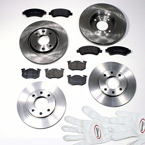Autoparts-Online Set 60006516 Bremsscheiben + Bremsbeläge vorne + hinten