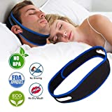 Anti Snoring Chin Straps,Ajustable Stop Snoring Solution Snore Reduction Sleep Aids,Anti Snoring...