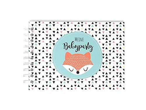 Gästebuch zur Babyparty, Erinnerungsalbum Babyshower, Geschenk Babyparty, Geschenk Schwangerschaft,...