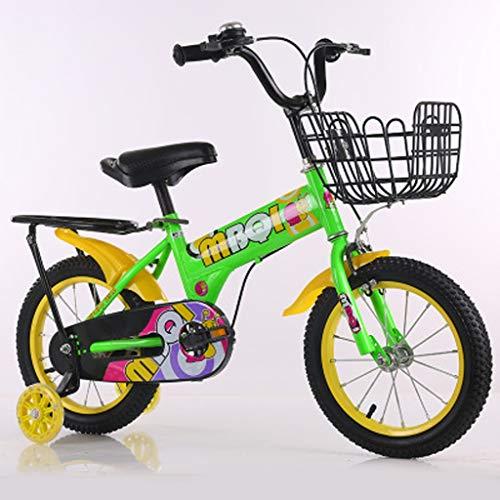 LDDLDG Bicicleta infantil infantil de 12 – 16 pulgadas BoysWith con ruedas...