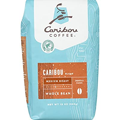 Current Asin: B00H345GT6 Caribou Coffee, Mahogany Dark Roast, Whole Bean, 12 oz. Bag, Dark Roast Blend of El Salvador, Sumatra, & Guatemala Coffee Beans, Earthy, Dark, & Bold, with A Raw Sugar Finish