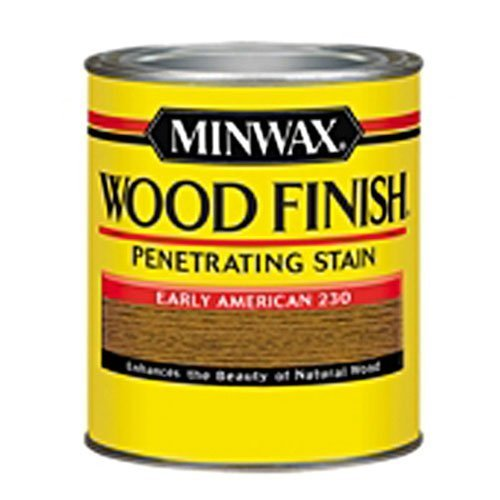 Minwax 22300 1/2 Pint Wood Finish Interior Wood Stain, Early American by Minwax