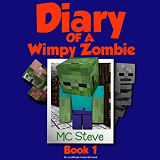 Diary of a Minecraft Wimpy Zombie, Book 1 cover art